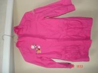 manteau été fushia avec capuche 8€