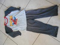 SPIDERMAN pyjama bleu marine 2€