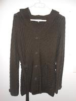 veste marron à capuche 38/40   15€