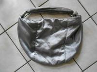 sac tissu argenté PRINTEMPS 6€