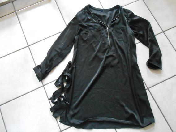robe tunique noire taille 42    5€