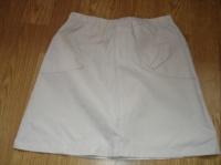 jupe beige taille élastique 2 €