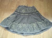 jupe velours taille élastique 4 €