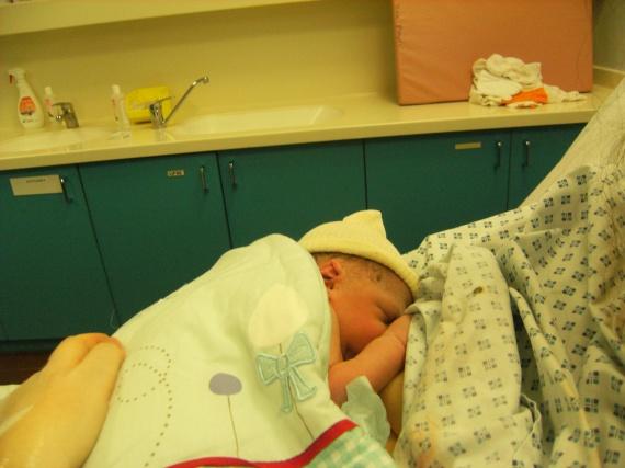 Alexy à peine né
