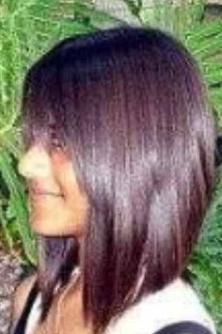 Carr plongeant mi long ou pas coiffure et coloration forum beaut - Carre plongeant frise visage rond ...
