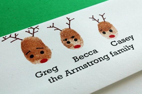 carte-vœux-Noël-faite-maison-rennes-empreintes-famille