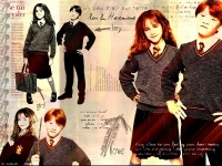 COS ron / hermione wallpaper