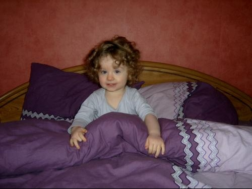dans le lit de papa maman