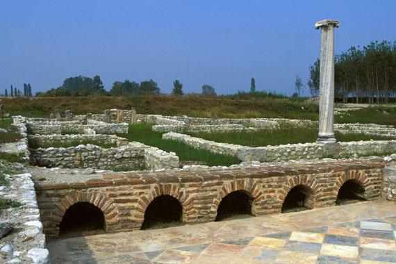 Les ruines de Dion