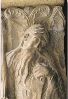 Jérémie cloître de Moissac