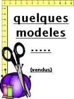 modeles vendus