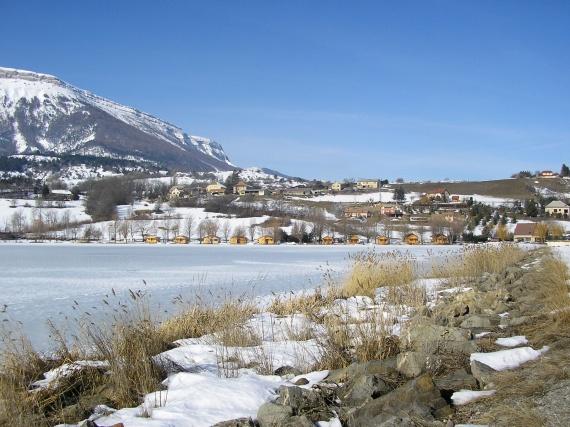 Lac Pelleautier gelé