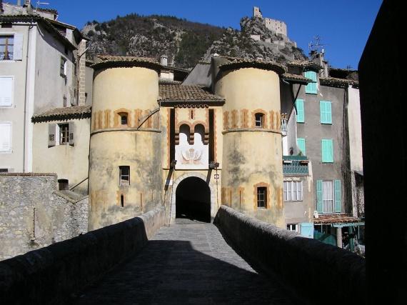 Pont levis  Entrevaux