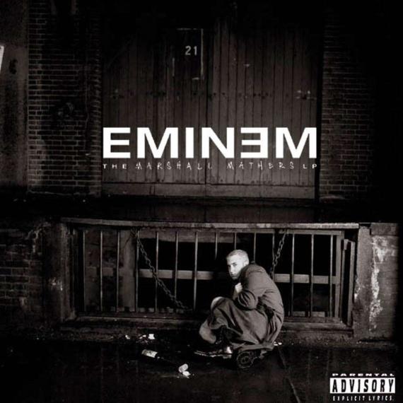 Eminem - The Marshall Mathers LP - Front2