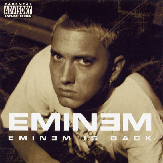 Eminem - Eminem Is Back - Front
