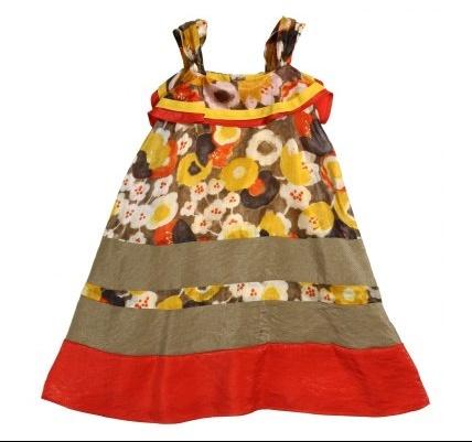 catimini robe soie