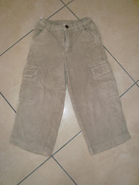 pantalon velours beige ♥