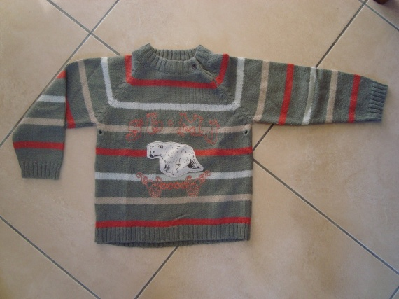 pull sergent major 6€ 5ans