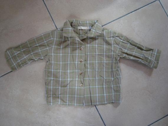 chemise ml TAO 12mois 5€