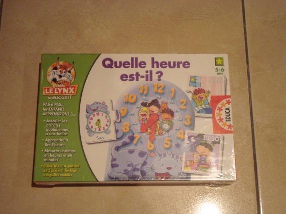 jeux éducatif NEUF 10€ RESERVER