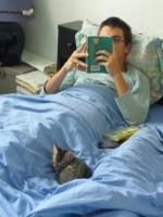 189 - Damien et un chaton