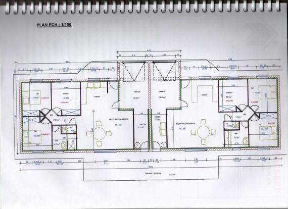 Plan Maison Mitoyenne Plain Pied - Ventana Blog