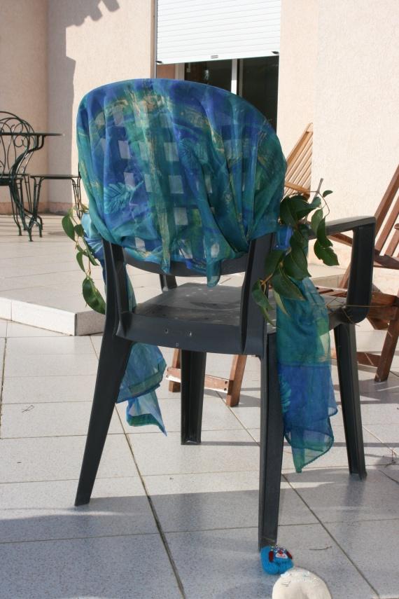Housse chaise a