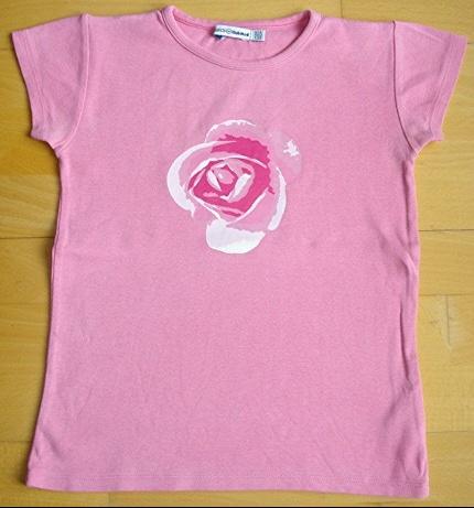 tee-shirt okaidi 10 ans rose : 3 euros!