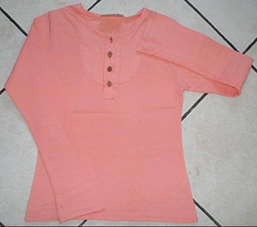 tee-shirt ML kiabi kids orange 10 ans porté 1X : 4 euros.