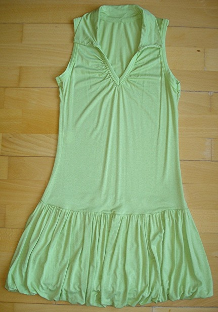 jolie robe vert pomme 12 ans 7 euros v tements fille. Black Bedroom Furniture Sets. Home Design Ideas
