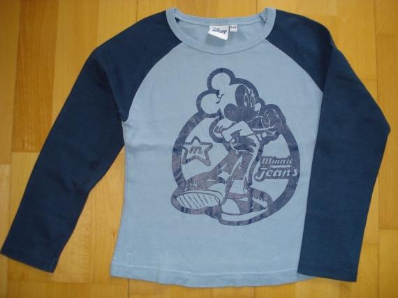 tee-shirt ML disney minnie jeans 6 ans : 4 euros car porté 2 fois.