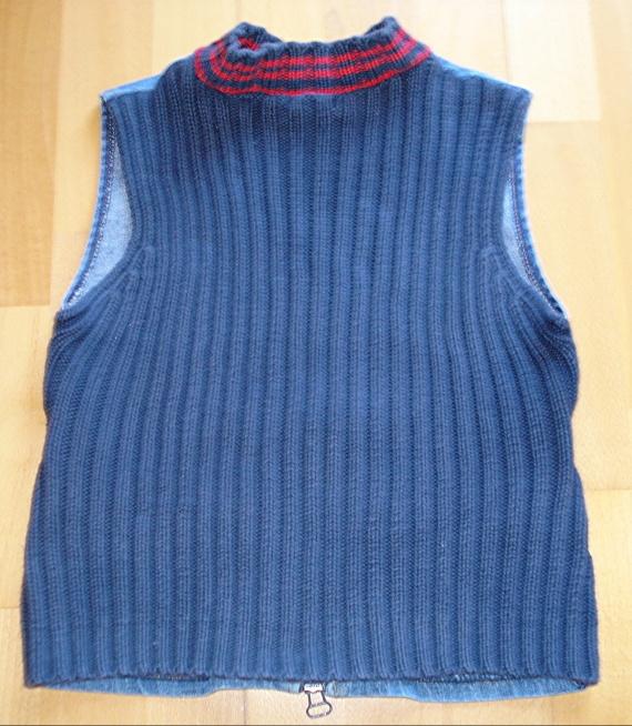 de dos : tricot