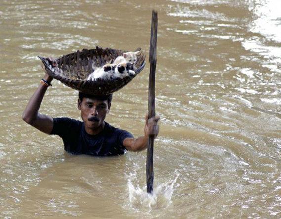 inondations aux phillipines