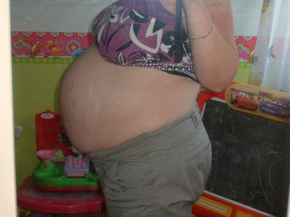 8 mois de grossesse