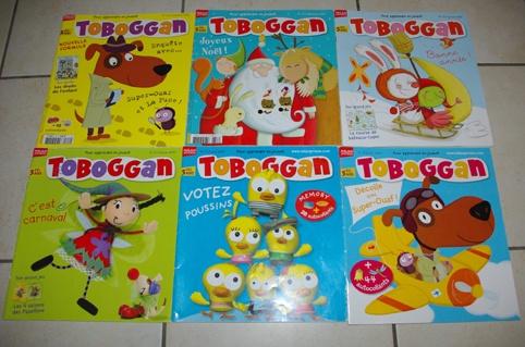 livres cartonnés et magasines popi, histoires pour les petits, toboggan... Livres-magasines-enfant-magasines-toboggan-euros-img