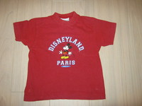 tee shirt mickey 4/5 ans, 2 euros