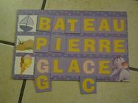 planche alphabet et mots