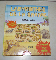 labyrinthes de la savane, 2 euros