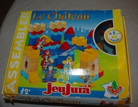 jeu de construction le chateau JEU JURA, 10 euros