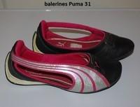 31, ballerines puma, 3 euros
