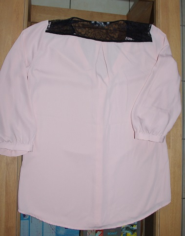 blouse H&M de dos