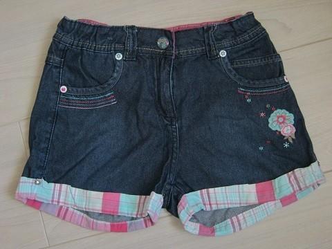 short en jeans sergent major 10 ans, 3 euros