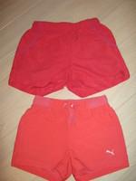 lot de 2 shorts sport 9/10 ans, 4 euros