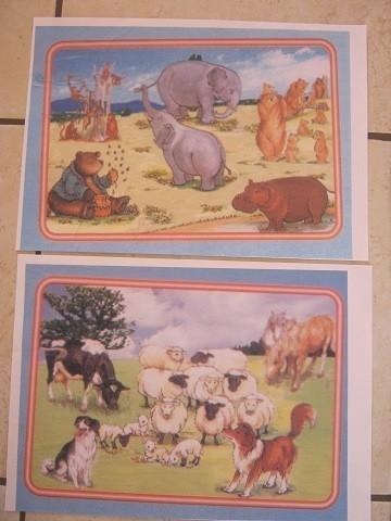 puzzles cartonnés
