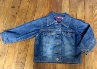 4€ veste jeans doublée OKAOU