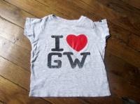 1,5€ tee shirt gris GW