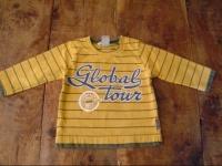 2€ tee shirt jaune H&M