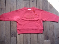 3€ pull sweat rouge