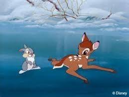 Nina Bambi et cie font du patin à Frégis