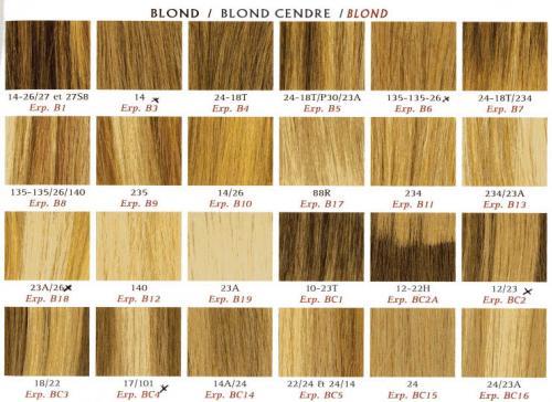 Palette Couleur De Cheveux Blond Yay81 Napanonprofits